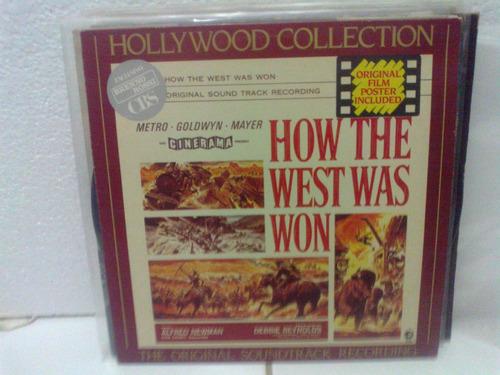 lp - trilha sonora - filme how thw west was won