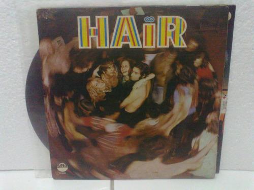 lp - trilha sonora - hair nacional