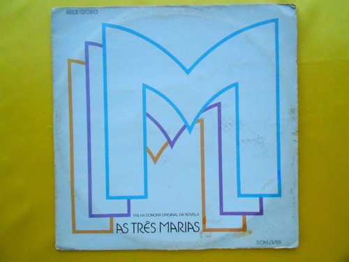 lp trilha sonora novela p/1980- as três marias - nacional