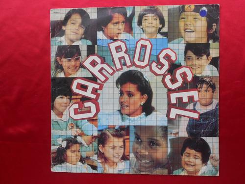 lp trilha sonora novela p/1991- carrossel