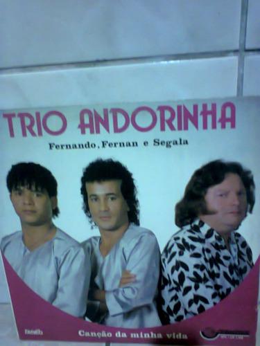 lp trio andorinha canção da minha vida autografado