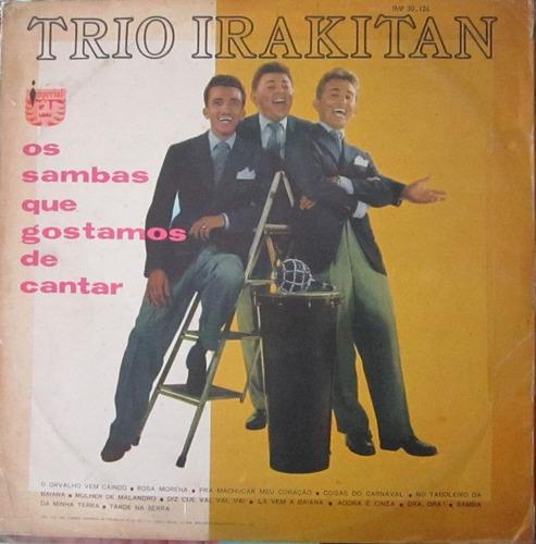 lp trio irakitan os sambas que gostamos de cantar