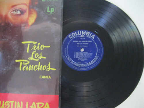 lp  =  trio los panchos canta musica de agustin lara