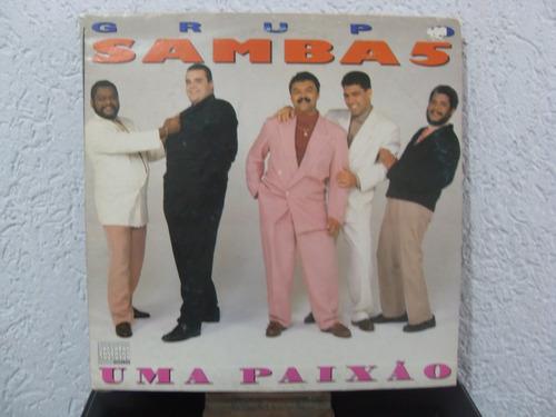 lp  uma paixão - grupo samba 5