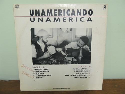 lp unamericando unamérica 1982