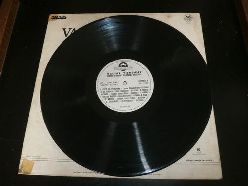lp valsas vienenses, ricardo strauss, disco vinil, ano 1983