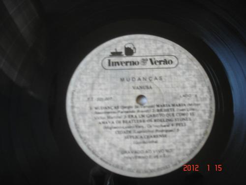 lp vanusa: mudanças - gravado ao vivo
