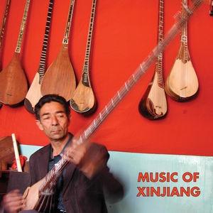 lp vários artistas music of xinjiang: kazakh & uyghur music