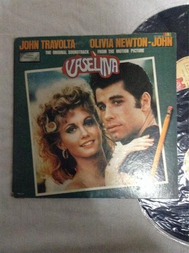 lp vaselina john travolta olivia newton -john
