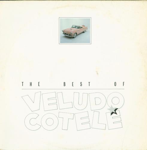 lp veludo cotele - the best of - brasidisc (com encarte)