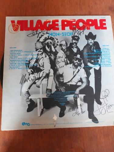 lp village people - non stop