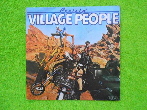 lp village people p/1978- cruisin