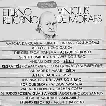 lp vinicius de moraes eterno retorno homenagem ao autor