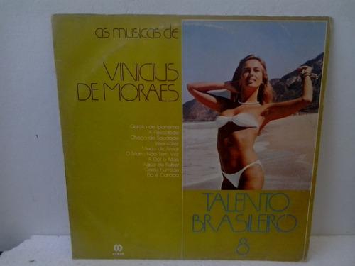 lp vinicius de moraes - talento brasileiro  8 - envio 13,00