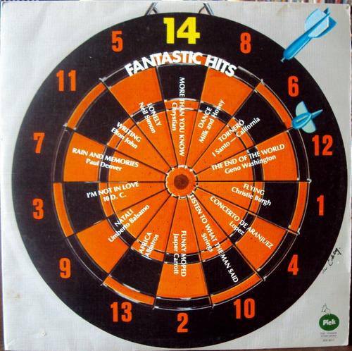 lp vinil - 14 fantastic hits - 1975