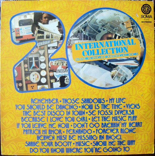 lp vinil - 20 international collection - 1977