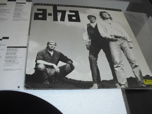 lp vinil - a-ha - east of the sun , west of the moon - 1990