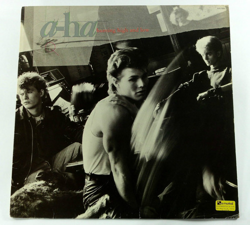 lp vinil - a-ha - hunting high and low - 1985