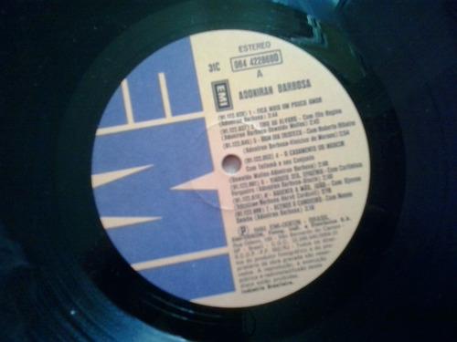 lp  vinil adoriran barbosa - 1980 + encarte