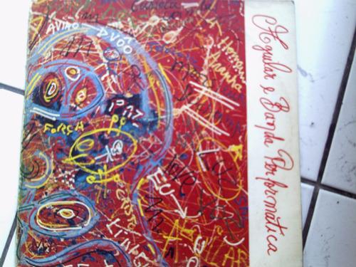lp vinil aguilar e a banda perfomática- neon - 1982