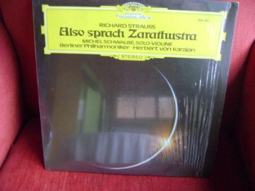 lp vinil also sprach zarathustra - 1985 - strauss