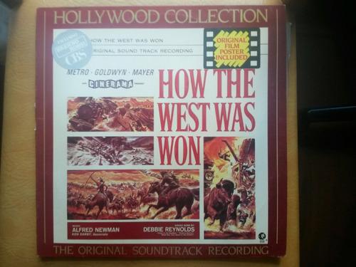 lp vinil antigo filme  how the west was won  coleção