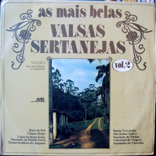 lp vinil - as mais belas valsas sertanejas - vol.2