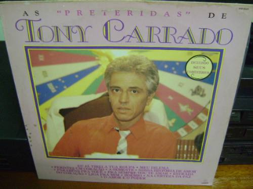 lp vinil as preteridas de tony carraro - 1988