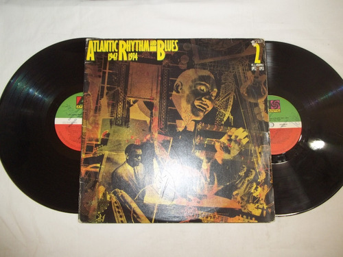 lp vinil - atlantic rhythm and blues - 1947 1974 - 2 discos
