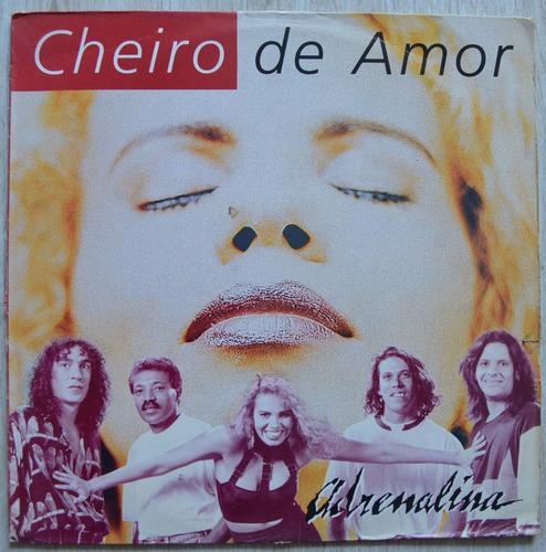 lp vinil - banda cheiro de amor - adrenalina - 1993