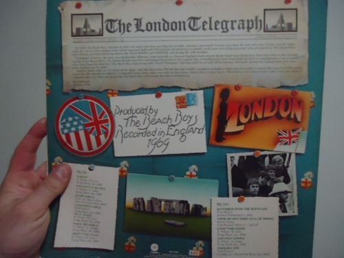 lp - vinil - beach boys - ´69 - live in london - importado