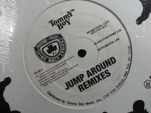 lp vinil blood stain remix jump around remix promo