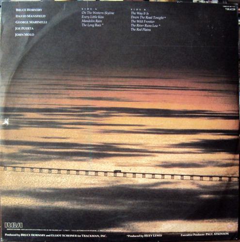 lp vinil - bruce hornsby and the range - the way it is