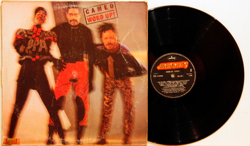 lp vinil cameo word up! 1986