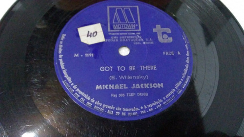 lp  vinil compacto michael jackson - got to be there