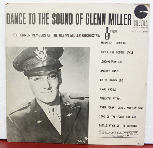 lp vinil - dance to the sound of glenn miller - 1973