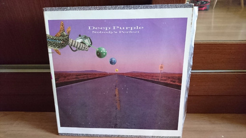 lp vinil deep purple - nobody's perfect 1988 muito novo!