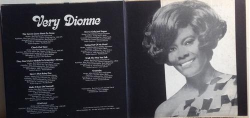 lp vinil - dionne warwick - very dionne .
