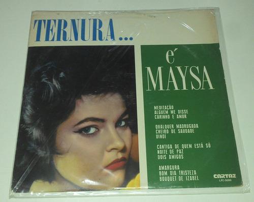 lp, vinil, disco de maysa
