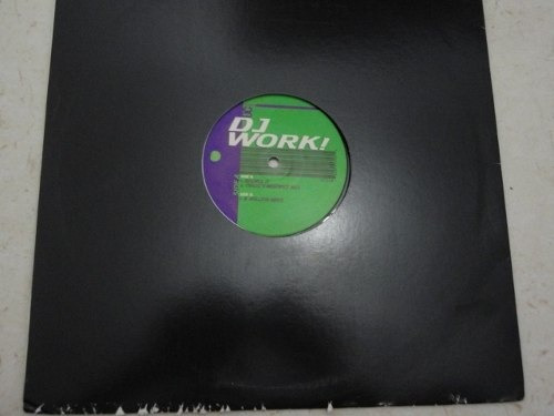 lp vinil dj work!