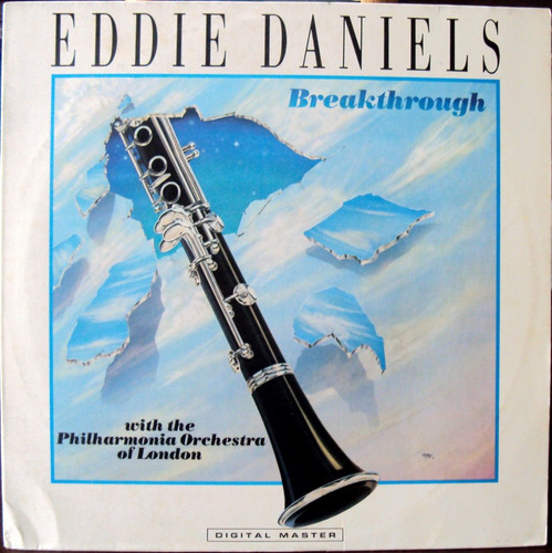 lp vinil - eddie daniels - breakthrough - 1985