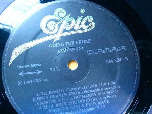lp - vinil - eddy grant - going for broke