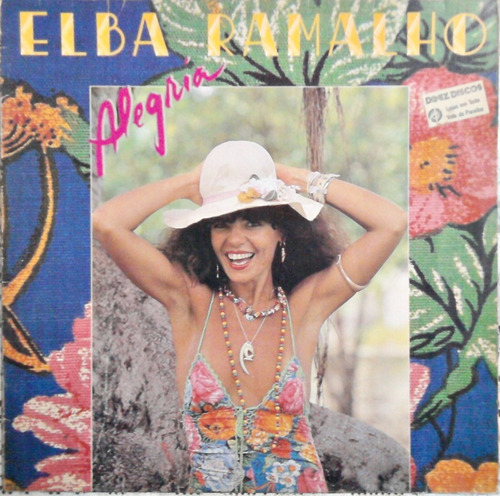 lp vinil - elba ramalho - alegria (1982)