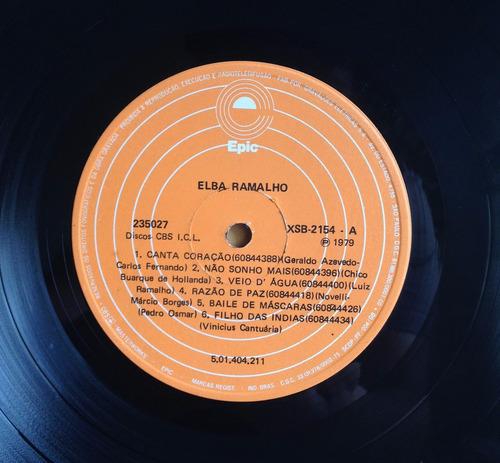lp vinil - elba ramalho - ave de prata 1º disco. ótimo!!!