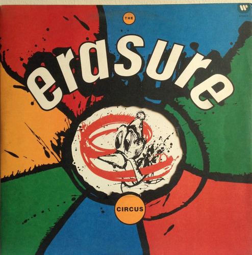 lp vinil erasure - the circus - ano 1987 - ótimo !!!
