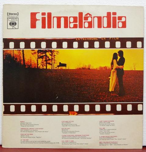 lp vinil - filmelândia - diversas orquestras - 1974