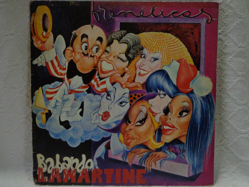 lp vinil-frenéticas-babando lamartine-warner-1980-encartes