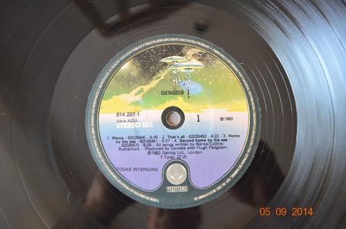 lp vinil - genesis - 1983