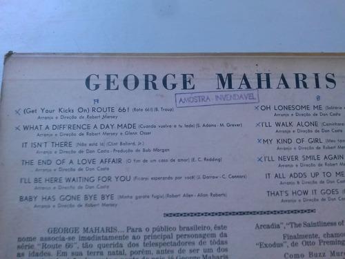 lp vinil - george maharis - get your kicks on