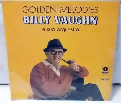 lp vinil- golden melodies - bilily vaughn e sua orquestra
